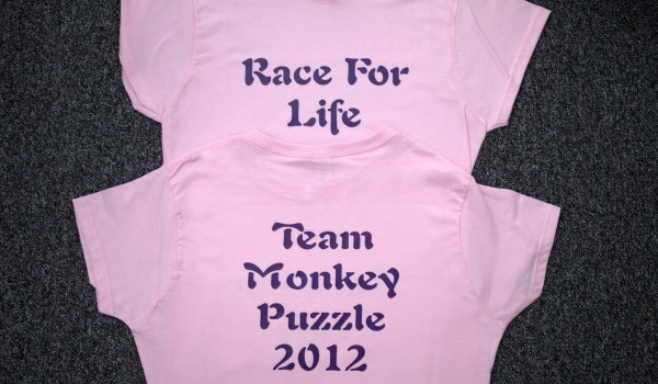 Race for life tshirts